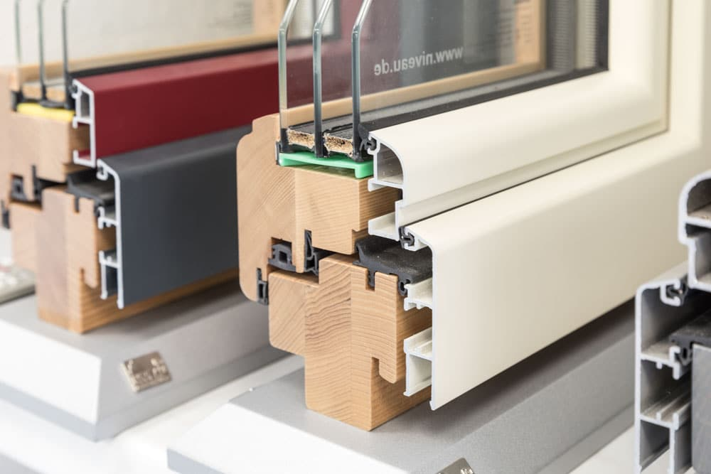 Lutz Produkte Holz-Aluminiumfenster Ausführungen