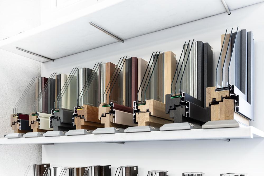Lutz Produkte Holz-Aluminiumfenster Holzarten