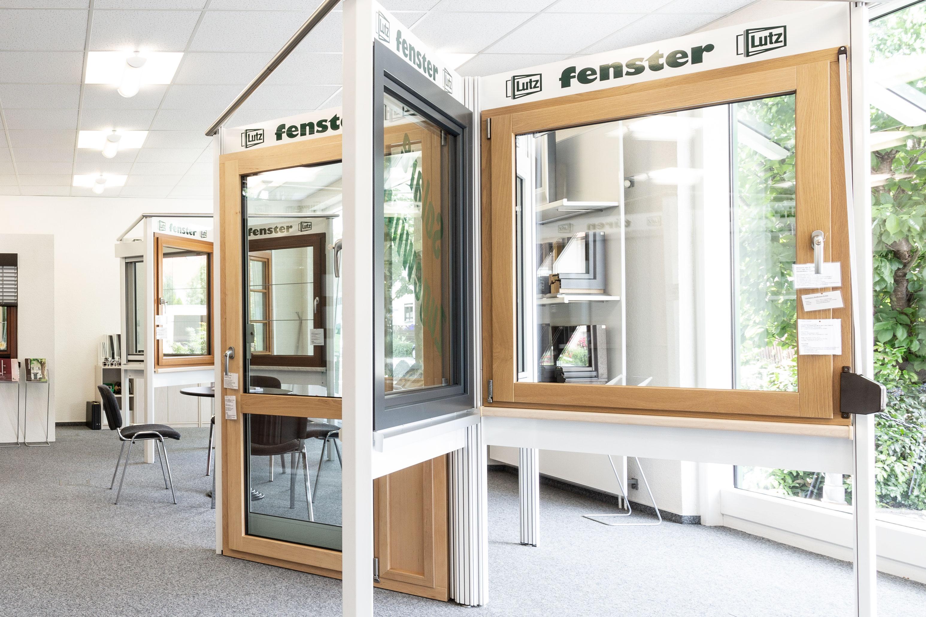 Lutz Ausstellung Kunststofffenster