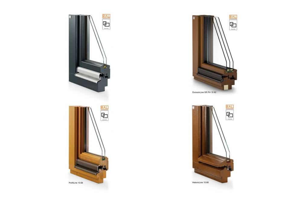 Lutz Produkte Holzfenster Niveau Produktlinien