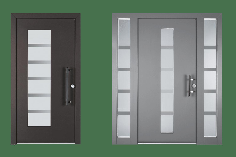 Lutz Produkte Niveau Holz-Alu-Haustüren Royal Classic
