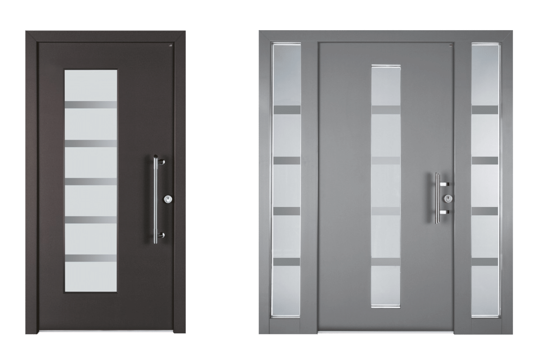 Lutz Niveau Holz-Aluminium-Haustüren
