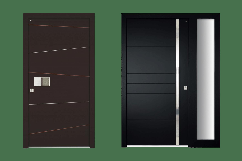Lutz Niveau Holz-Aluminium-Haustüren Modellreihe RoyalVacuMax