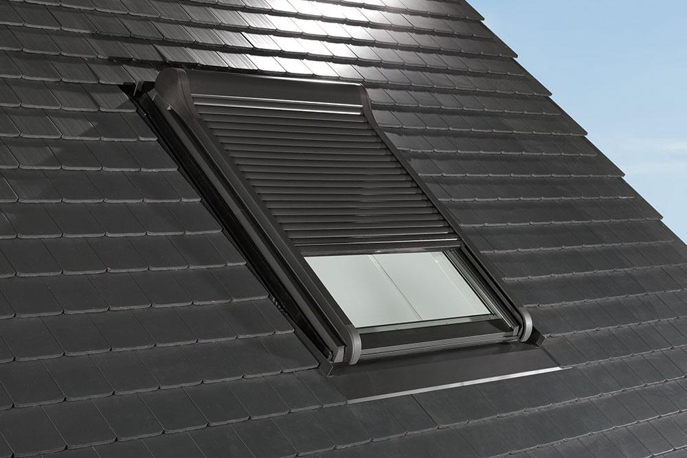 Roto Dachfenster Aussenrollladen